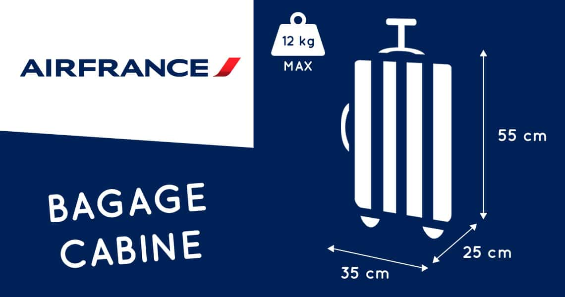 Bagage Cabine Air France 2019 Dimensions Amp Poids