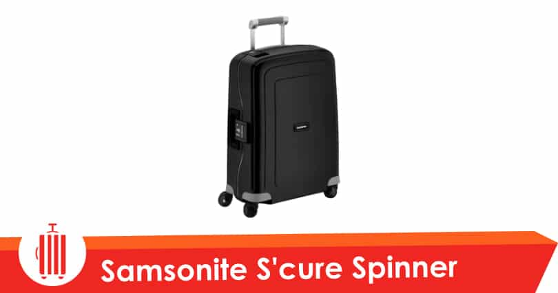 samsonite s 39 cure spinner test avis valise cabine rigide 4 roues 55 cm. Black Bedroom Furniture Sets. Home Design Ideas