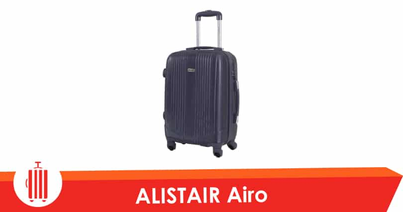 alistair airo test avis valise taille cabine low cost pas cher. Black Bedroom Furniture Sets. Home Design Ideas