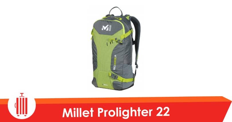 Millet Prolighter 22 Test Amp Avis Sac 224 Dos D Alpinisme
