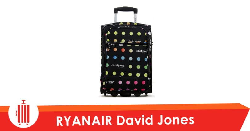 david jones ryanair test avis valise cabine souple 2 roulettes. Black Bedroom Furniture Sets. Home Design Ideas