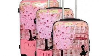 valise lollipops rose