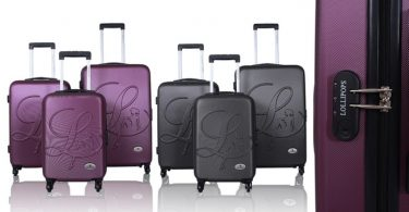 valise lollipops violette
