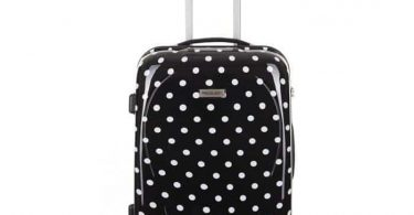 valise travel one a pois